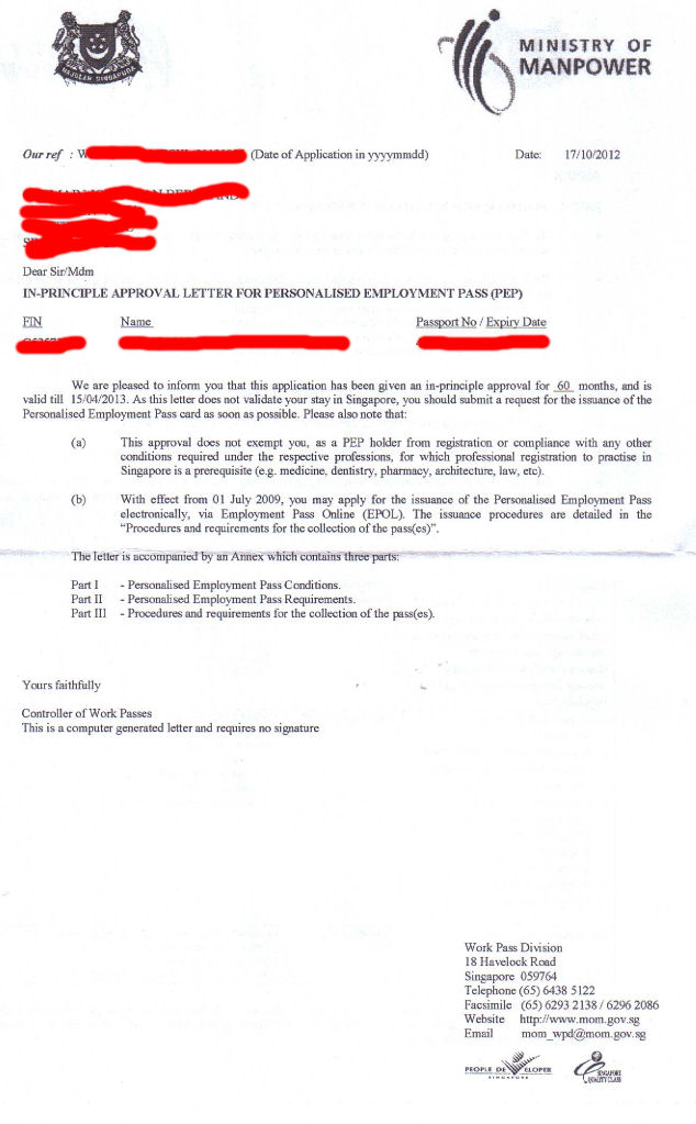 Singapore Report Letter Undertaking   Odoo Apps handy man resume